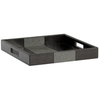 Lawson Black Square Tray