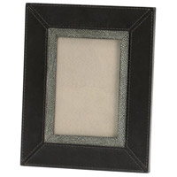 Lawson Black and Grey Photo Frame, 4x6