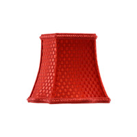 CM Shiny Red Chandelier Shade