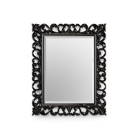 Chelsea House by Wildwood Lamps CM Mirror in Black Lacquer 380958