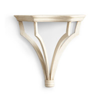Wildwood Lamps 380986 CM 13 inch Antique Cream Wall Bracket Accessory