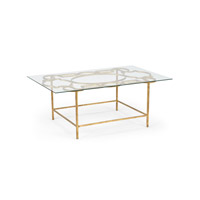 Lisa Kahn 48 X 30 inch Cocktail Table