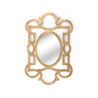 Lisa Kahn 60 X 40 inch Mirror Home Decor