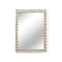 Matthew Frederick 47 X 35 inch Antique Silver Wall Mirror