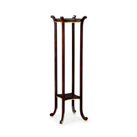 Wildwood Lamps 382100 CM Dark Chocolate Plant Stand