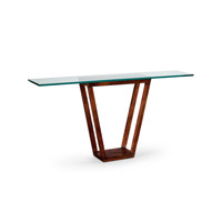 Lisa Kahn 72 X 14 inch Walnut Table Home Decor