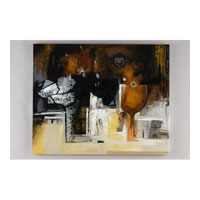Wildwood Lamps Transitional Oil Painting Contemporary Art - Canvas Mounted 394950