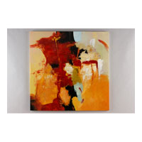 Wildwood Lamps Transitional Oil Painting Contemporary Art - Canvas Mounted 394952