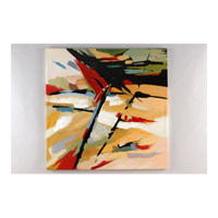 Wildwood Lamps Transitional Oil Painting Contemporary Art - Canvas Mounted 394953