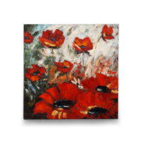 Wildwood Lamps Signature Oil Painting on Canvas 394973