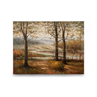 Wildwood Lamps Signature Oil Painting on Canvas 394975