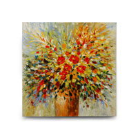 Wildwood Lamps Signature Oil Painting on Canvas 394979
