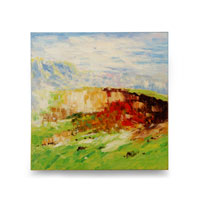 Wildwood Lamps Signature Oil Painting on Canvas 394983