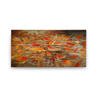 Wildwood Lamps Signature Oil Painting on Canvas 394986