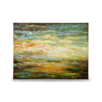 Wildwood Lamps Signature Oil Painting on Canvas 394987