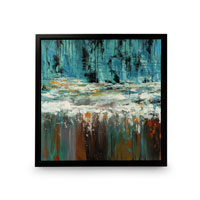 Wildwood Lamps Signature Oil Painting on Canvas with Frame 394989