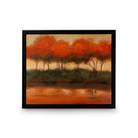 Wildwood Lamps Signature Oil Painting on Canvas with Frame 394997