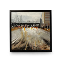 Wildwood Lamps Signature Oil Painting on Canvas with Frame 395029 photo thumbnail