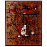 Scribble Framed Acrylic On Canvas Oil Painting