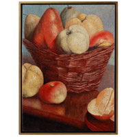 Wildwood Lamps 395081 Fruit Basket 48 X 36 inch Oil Painting