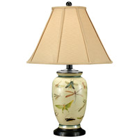 MarketPlace 29 inch 100 watt Hand Painted On Porcelain Table Lamp Portable Light