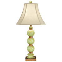 Marble 32 inch 100 watt Hand Colored Fauxstone With Old Gold Table Lamp Portable Light