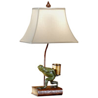 Wildwood Lamps Studious Frog Table Lamp in Hand Painted 46294