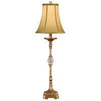 Wildwood Lamps Crystal Ball Table Lamp in Faux Bronze 46320