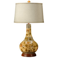 Wildwood Lamps Water Jar Table Lamp in Hand Painted On Porcelain 46383