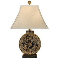 Wildwood Lamps Flower Drum Table Lamp in Hand Decorated Porcelain 46420 photo thumbnail
