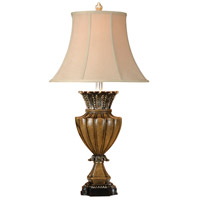 Wildwood Lamps 46430 Crackle 35 inch 100 watt Hand Colored Table Lamp Portable Light photo thumbnail