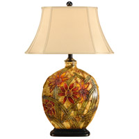 Wildwood Lamps Starflower Table Lamp in Hand Painted Acrylic Lacquer On Porcelain 46529