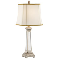 Wildwood Lamps 46582 Mirrored 35 inch 100 watt Hand Colored Table Lamp Portable Light