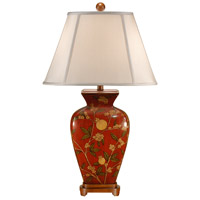 Wildwood Lamps Forbidden Fruit Table Lamp in Hand Painted Porcelain 46603 photo thumbnail