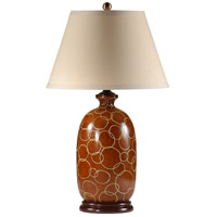 Wildwood Lamps Connected Circles Table Lamp in Hand Painted Porcelain 46611