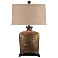 Wildwood Lamps Bumpy Bottle Table Lamp in Old World Bronze Base And Accents 46636