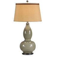 Wildwood Lamps Gourd Vase Table Lamp in Hand Glazed Porcelain 46664