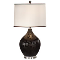 Wildwood Lamps Painted Porcelain Table Lamp in Hand Decorated Porcelain 46668 photo thumbnail