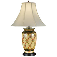 Wildwood Lamps Criss Cross Garden Table Lamp in Hand Painted Acrylic Lacquer 46706