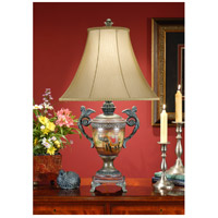 Wildwood Lamps Eastern Urn Table Lamp in Hand Painted Faux Wood And Faux Bronze 46707 photo thumbnail