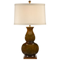 Wildwood Lamps 46761 Gourd 31 inch 100 watt Old Oaked Mounting Table Lamp Portable Light