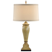 Wildwood Lamps Tuscan Column Table Lamp in Hand Painted And Destressed 46762