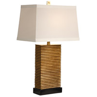 Wildwood Lamps Stacks Of Slats Table Lamp in Hand Decorated Faux Wood 46766