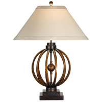 Wildwood Lamps Sunset Longitude Table Lamp in Hand Colored Iron 46784