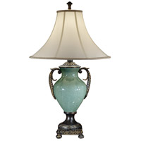 Wildwood Lamps Handled Urn Table Lamp in Faux Bronze 46858