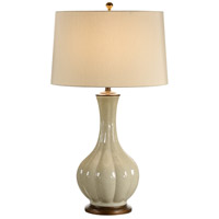 Wildwood Lamps Onion Vase Table Lamp in Crackle Glaze Porcelain 46879