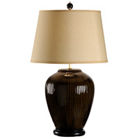 Wildwood Lamps MarketPlace 1 Light Mini Ribs Lamp Hand Glazed Table Lamp in Porcelain 46909