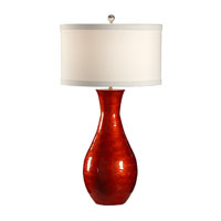 Wildwood 46919 MarketPlace 35 inch 100 watt Red Lacquer Table Lamp Portable Light
