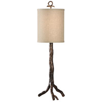 MarketPlace 29 inch 100 watt Old Bronze Table Lamp Portable Light