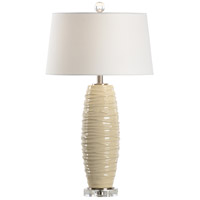Wildwood 46987 Twister 29 inch 100 watt Ceramic and Crystal Table Lamp Portable Light